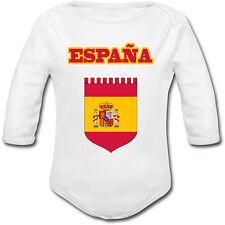Body Bébé Football Espagne España - Euro 2016