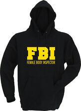 FBI - Female Body Inspector - Kapu / Hoodie - Gr. S bis XXXL