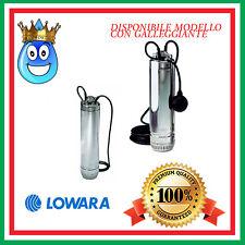 ELETTROPOMPA POMPA SOMMERSA LOWARA SCUBA 205C/207C/209C/211C MONOFASE