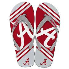 Alabama Crimson Tide NCAA 2013 Team Big Logo Unisex Beach Flip Flip Sandals
