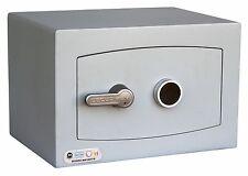 Fire Resistant Mini Vault Safe - Cash Valuables Safe - Key or Electronic Lock