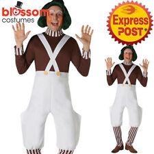 CA348 Oompa Loompa Chocolate Factory Worker Book Week Day World Mens Costume