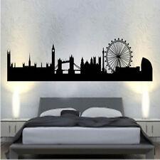 london skyline Decal Vinyl Wall Sticker Art World Country Silhouette