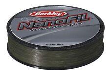 Berkley Nanofil Green Lo Vis Uni-Filament  Fishing Line Spinning Line 125m&270m