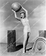 Leslie Brooks w giant beach ball 8b20-20477