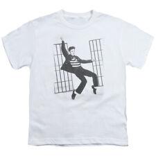 Elvis Presley Kids T-Shirt Jailhouse Rock White Tee
