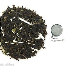 Nargis Tulsi Lemon Blast Green Tea Flavored,Loose Leaf With FREE INFUSER # FL 7