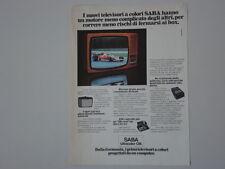 advertising Pubblicità 1977 TELEVISORE SABA ULTRACOLOR