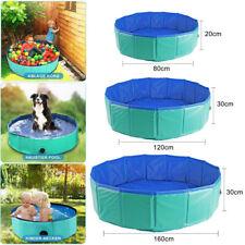 Hundepool Kinder pool Faltbar Baby Planschbecken Schwimmbecken Sommer Schwimmbad