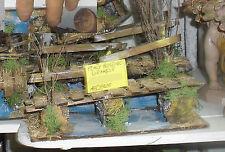 Miniature Crèche Pont Bois Petites Pièces Noël S.Gregorio Arménien