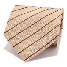 5341S cravatta uomo BIAGIOTTI UOMO seta oro/rosso silk tie men