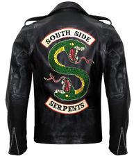 Riverdale Southside Serpents Gang Jacket Jughead Jones Cole Sprouse Biker Jacke