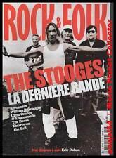 "ROCK & FOLK  #476 + CD ""THE STOOGES, Aerosmith, Ultra Orange & Emmanuelle, Doors"