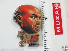 Vintage Charles Barkley Pin  Phoenix Suns Basketball Lapel Pin  (NBA #9)