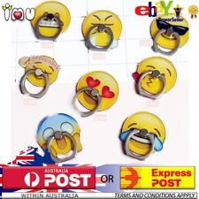 Cute Funny Emoji Emotion iRing Finger Phone Rings Holder Stand Iphone Samsung
