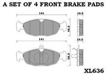 Corsa Mk1 B 1.0 1.2 1.4 1.5 1.6 1.7 D plaquettes de frein avant