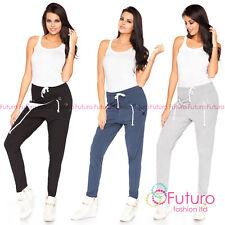 donna pantaloni harem con tasche STREET casual cargo taglia 2.4-4.9m1170