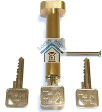 Thumb Turn Cylinder Euro Barrel Lock UPVC Doors Anti Pick Anti Drill with 3 Keys