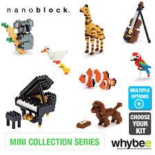 Nano Blocco Mini collezione di animali e strumenti MICRO BUILDING BLOCKS 12yr+