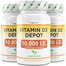 365 - 1095 Tabletten Vitamin D3 Depot 10.000 I.E. - 10000 IU pro Tab. Vit4ever