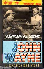 LA SIGNORINA E IL COWBOY (1943) VHS L2 Video -  John WAYNE