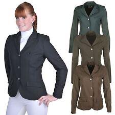 Hkm junior marburg tailor fit pli résistant équitation compétition veste