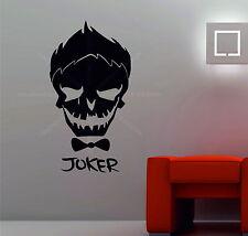 Suicide Squad Joker villanos Parachoques Ventana Automóvil Decoración Pared Pegatina De Vinilo Dormitorio
