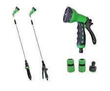 Hongville Garden Multi-Pattern Adjustable Watering Gun Wand Hose Sprayer Nozzles
