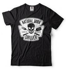 Funny Bbq T-shirts Natural Born Griller Cool Gift Grilling T-shirt Camping Shirt