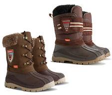 KIDS BABY INFANT WARM WINTER BOOTS Woollen Fur Snow Shoes Boys Girls DEMAR