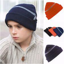 d71747564a18 Enfants Bonnet Thinsulate Réfléchissant Chaud Hiver Enfants Enfants Garçons  Fill.