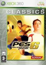 Pro Evolution Soccer 6 (Microsoft Xbox 360, 2006) - European Version