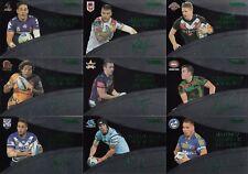 2016 NRL TRADERS SAS SIGNATURE SERIES BLACK TRADING CARDS - REYNOLDS, ENNIS,