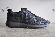 Nike Womens Roshe Run Metric QS Triple Black - Black/Black-Black