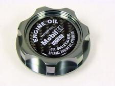 HONDA ACURA MOBIL 1 CARBON FIBER OIL CAP GUNMETAL