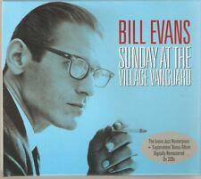 BILL EVANS SUNDAY AT THE VILLAGE VANGUARD - 2 CD BOX SET - GLORIA'S STEP & MORE
