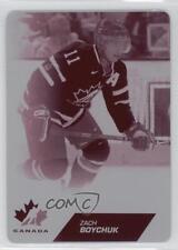 2013 Upper Deck Team Canada Printing Plates Magenta #95 Zach Boychuk Hockey Card