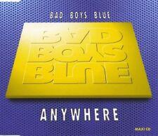 BAD BOYS BLUE Anywhere 3 RARE MIXES w/ SINGLE VERSION CD Single SEALED USA Seler