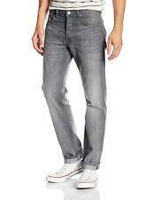 Lee Daren Slim Fit Tapered Jeans New Men's Faded Storm Grey Straight Leg Denim