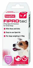 Beaphar Fiprotec Dog Flea & Tick Spot-On Treatment (Removal & Prevention)