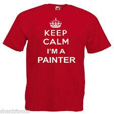 Keep Calm Painter Children's Kids T Shirt