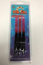 Red Gill Evolution Bright Red Afterburner Sandeel Imitation Lure