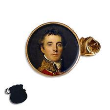 FIELD MARSHAL ARTHUR WELLESLEY  DUKE OF WELLINGTON ENAMEL LAPEL PIN BADGE GIFT