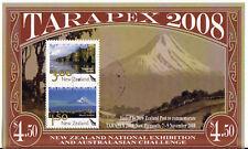 Nueva Zelanda 2008 tarapex Hoja Miniatura MATASELLADO