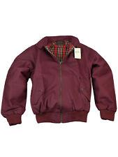 Merc London Herren Harrington Jacke England Jacket Burgundy Mod Ska Rot 5015