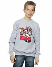 Tom And Jerry Boys Tomic Energy Sweatshirt