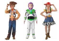 Childrens Toy Story Costumes Fancy Dress Buzz Woody Jessie Girls Boys