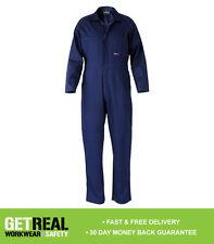 Bisley Workwear - Mens Coveralls Regular Weight Navy (BC6007)