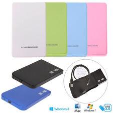 "USB 3.0 / USB 2.0 External 2.5"" SATA SDD HDD Hard Drive Disc Enclosure Case Box"