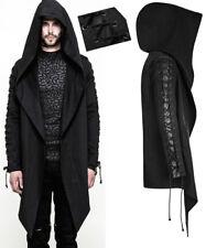 Veste capuche hoodie asymétrique gothique punk fashion laçages Punkrave Homme